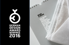 German Design Award 2016 – Nominated!