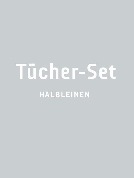 Halbleinen-Geschirrtuch-Sets